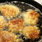 Frying Latkes For Hanukah