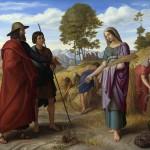 Ruth in Boaz's Field by Julius Schnorr von Carolsfeld, 1828